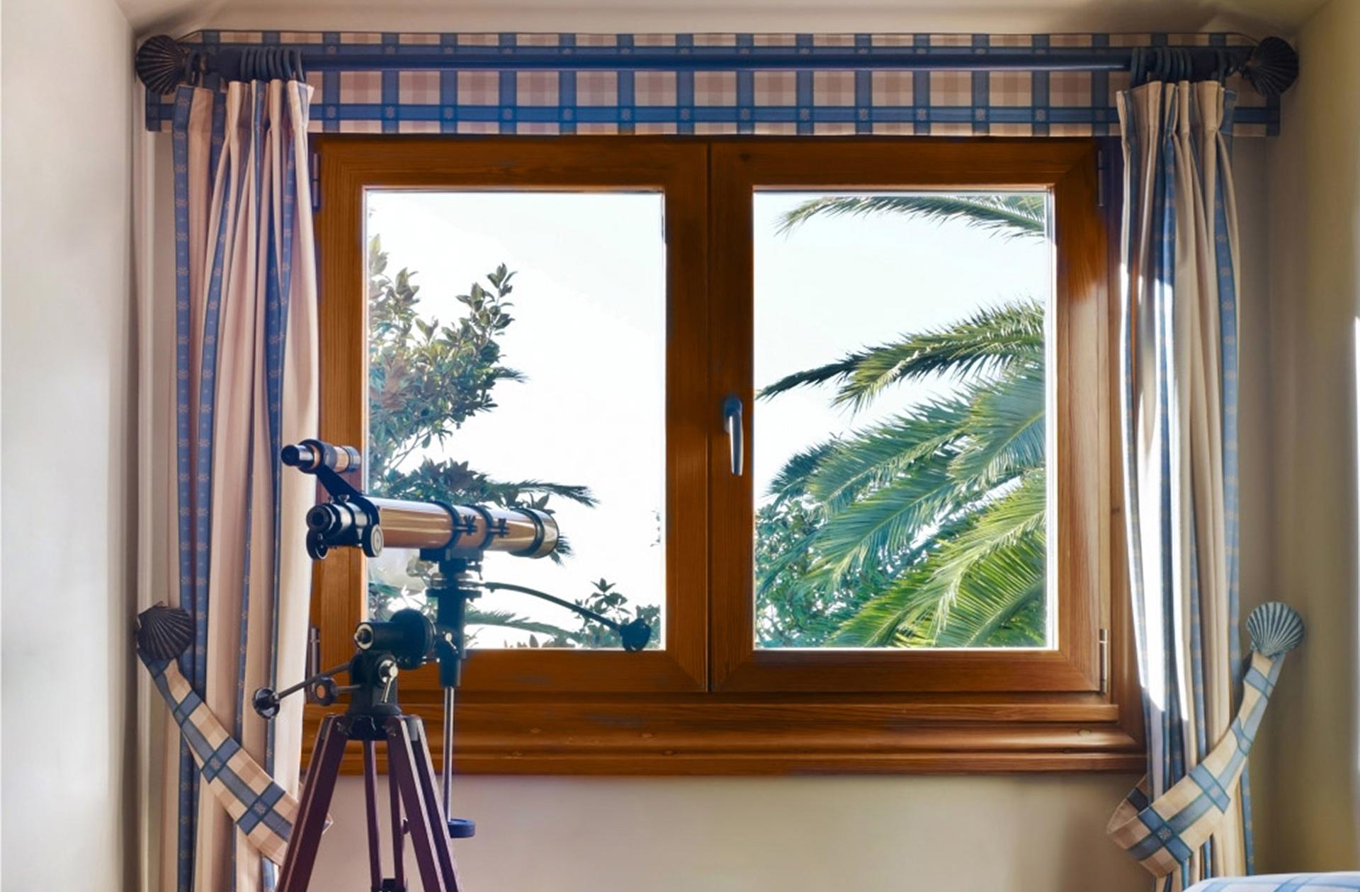 ventanas mixtas de aluminio y madera