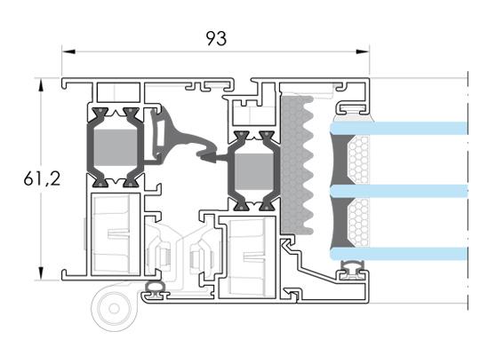 Cerramientos y ventanas de aluminio. IT-61.